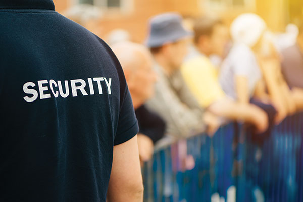 Unarmed Static Security Guarding